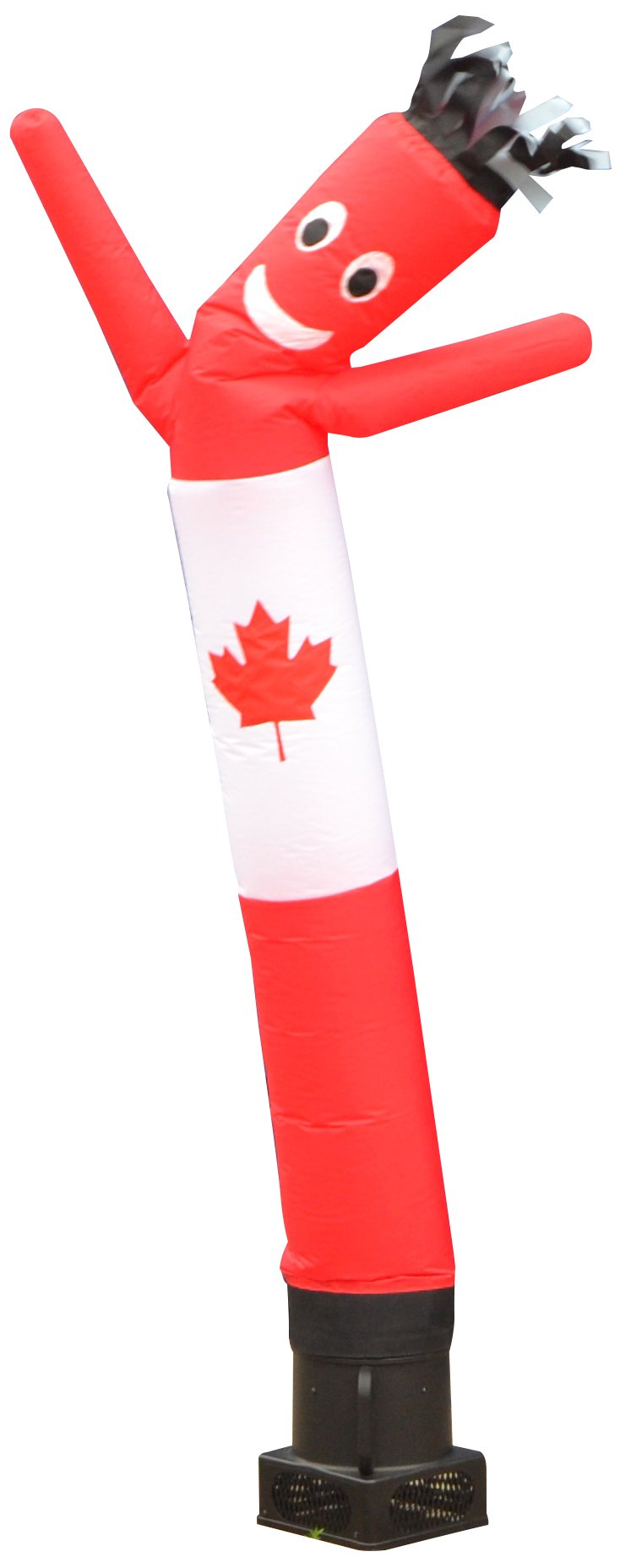 LookOurWay Air Dancers Inflatable Tube Man Complete Set with 1/4 HP Sky Dancer Blower, 6-Feet, Canadian Flag by LookOurWay