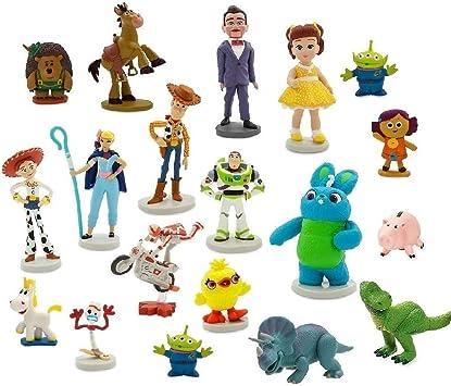 Disney Mega Set Figuras Toy Story 4: Amazon.es: Juguetes y juegos