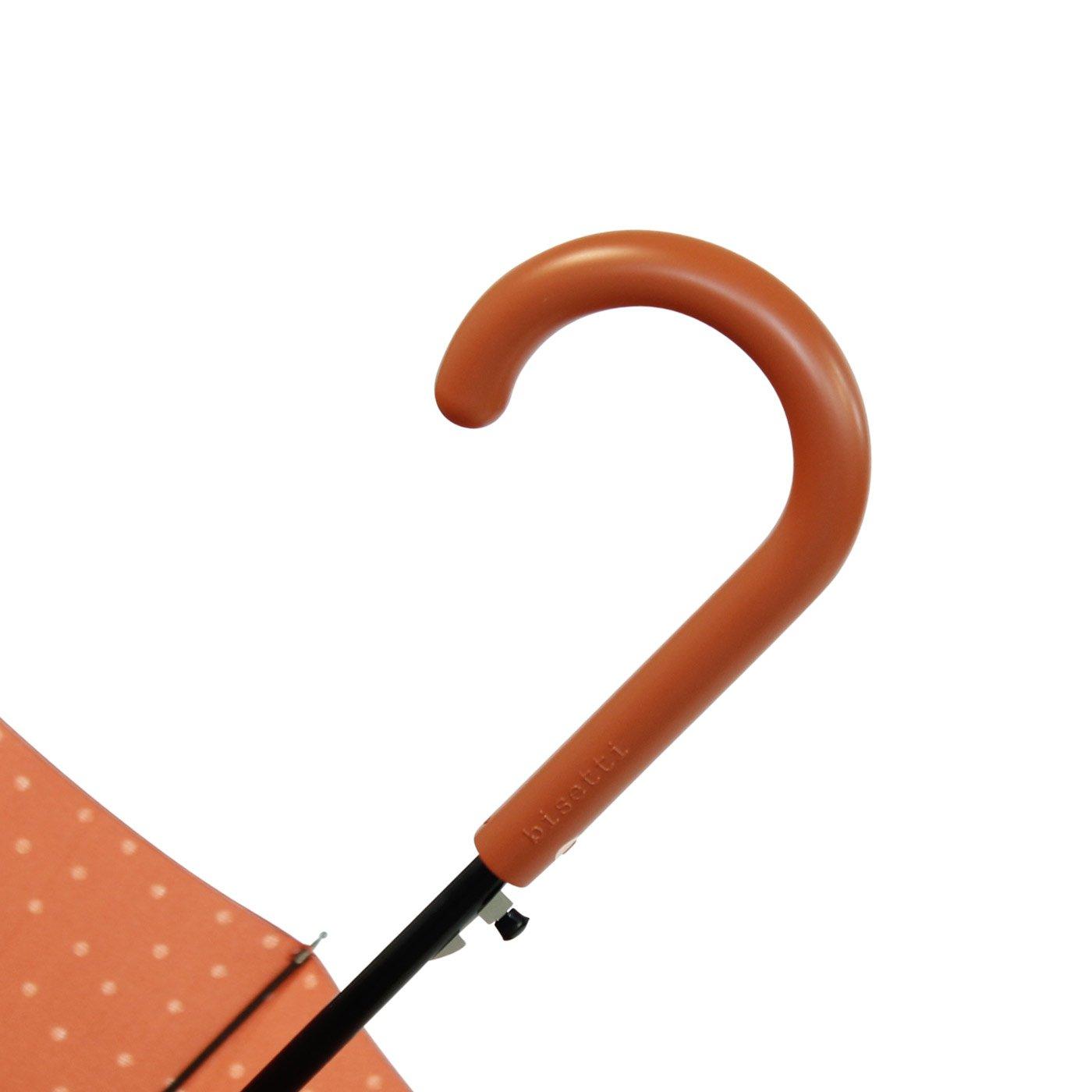 INVIERNO - Paraguas mujer largo de 61cm Bisetti topos-triángulos: Amazon.es: Equipaje