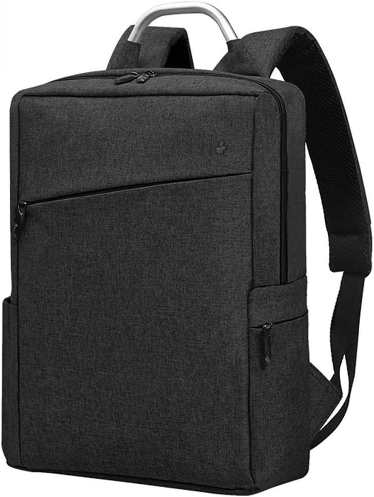 Color : Blue Gray, Size : 28cm37cm10cm Navy Blue//Blue Grey CONGMING Mens Backpack Business Travel Bag Laptop Bag