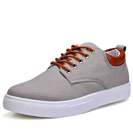 cae8fa8181c Image Unavailable. Image not available for. Color  XINBONG New Spring  Comfortable Casual Shoes Mens Canvas ...