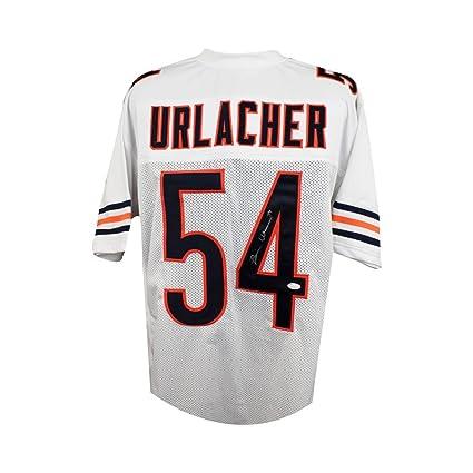 official photos 6bdee e8fb6 Brian Urlacher Autographed Chicago Bears Custom White ...