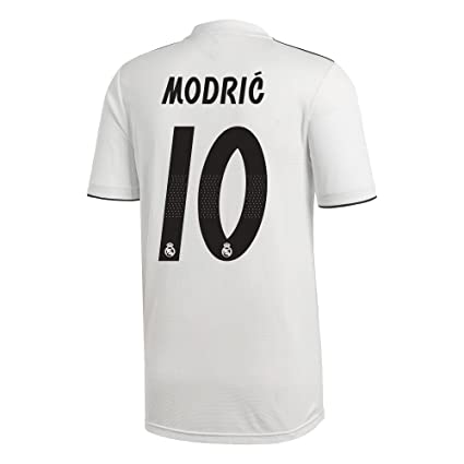 brand new 9984a 67c7a Amazon.com : adidas Real Madrid Home Modric 10 Jersey 2018 ...