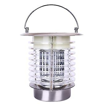 Lumi Jardin FLY Lampe LED 2 en1 Solaire éclairage Fonction Anti Moustique,  Acier, 1c2822444472
