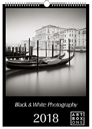 Artboxone calendar 2018 black white photography by ronny behnert wall calendar din a2 towns