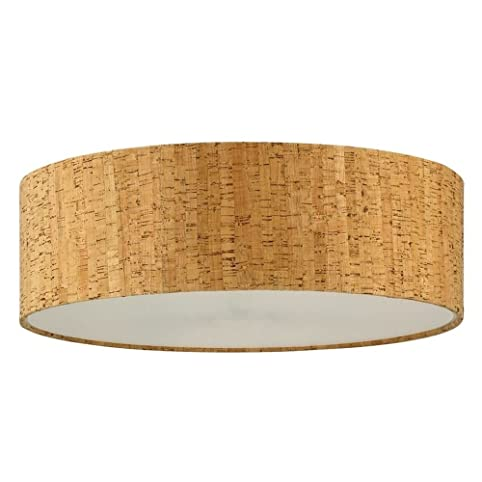 Cork drum lamp shade lampshades amazon cork drum lamp shade aloadofball Choice Image