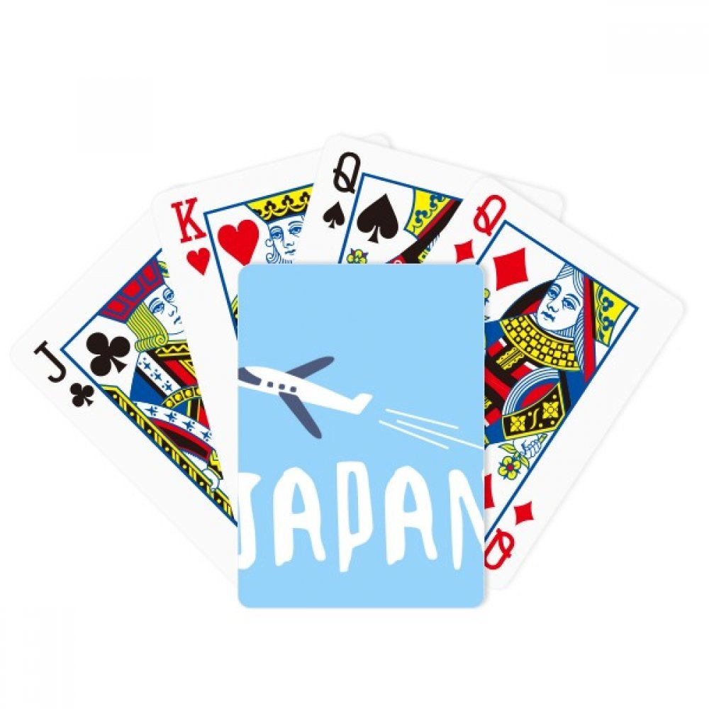 beatChong Japanese Airplane Travel Wellcome Poker Playing Card Tabletop Board Game Gift by beatChong