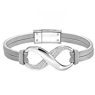 Bracelet infini Swarovski Exist , S , Gray , 5221584