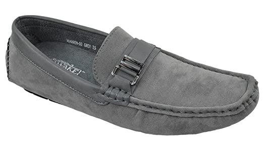 Amazon.com | Js Awake Men Casual Shoes Comfort Driving Moccasin Slip On Driver Loafers WARREN-03 | Loafers & Slip-Ons