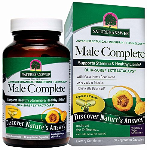 Nature's Answer Male Complete Extract Capsules, 90 Count -