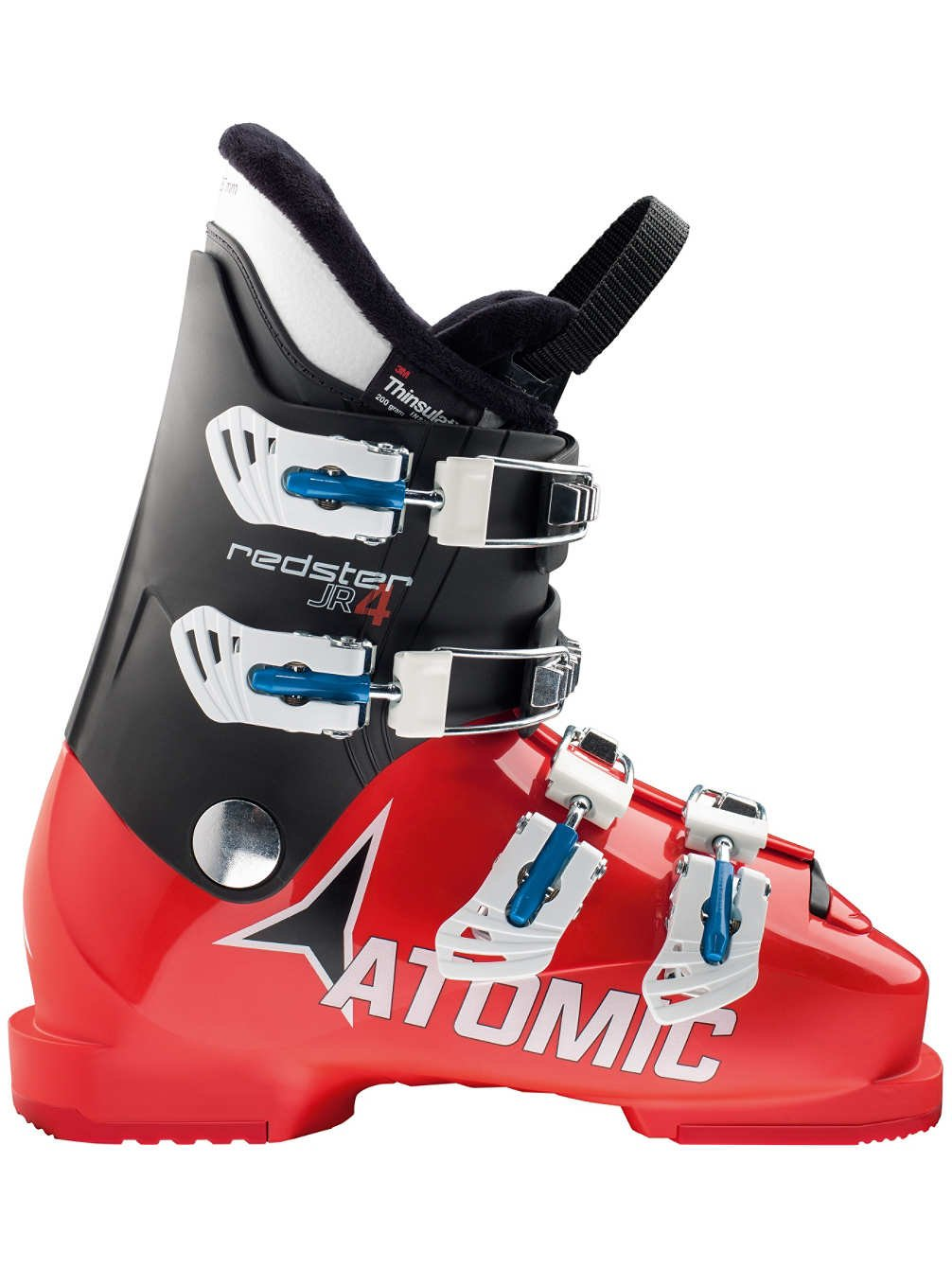 Atomic Redster Jr 4 Downhill Boots Red 25 Black