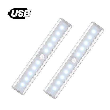 [nuevo] Sensor de movimiento luz para armario – JEBSENS T05 – 2 Pack USB