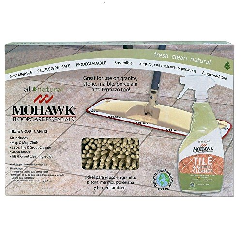 Mohawk Floor Care Essentials Tile & Grout Care Kit with Cleaner Spray All Natural Lemon Aroma (Mohawk Floor)