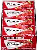 Trident Sugar Free Gum (Strawberry Twist, 18-Piece, 12-Pack)