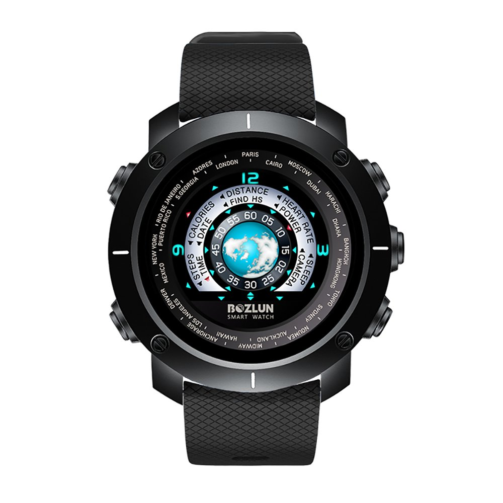 SKMEI Men's Digital Sports Watch Waterproof Smart Watches with Heart Rate Call SMS Stopwatch Pedometer