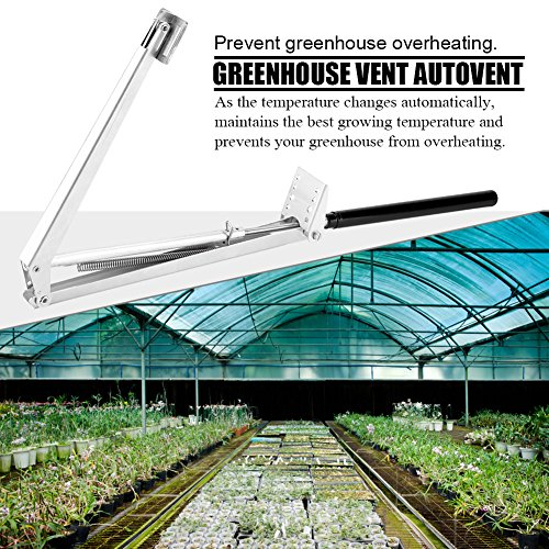 TOPINCN Greenhouse Window Opener Automatically Prevent Overheating Vent Autovent Solar Heat Energy Sensitive Automatic Greenhouses Roof by TOPINCN (Image #1)