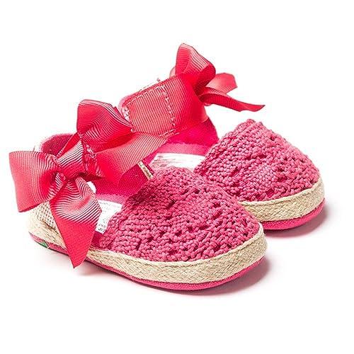 Royal Victoria Bebé Niñas Crochet Knit Suave Suela ...
