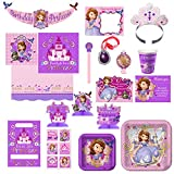 Hallmark Birthday Party Combo Pack - Sofia The First
