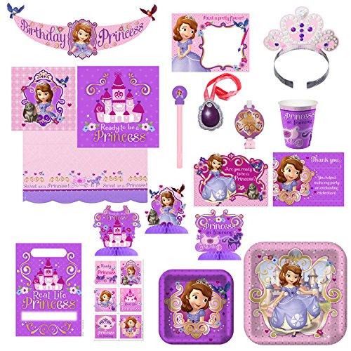 Hallmark Birthday Party Combo Pack - Sofia The First -