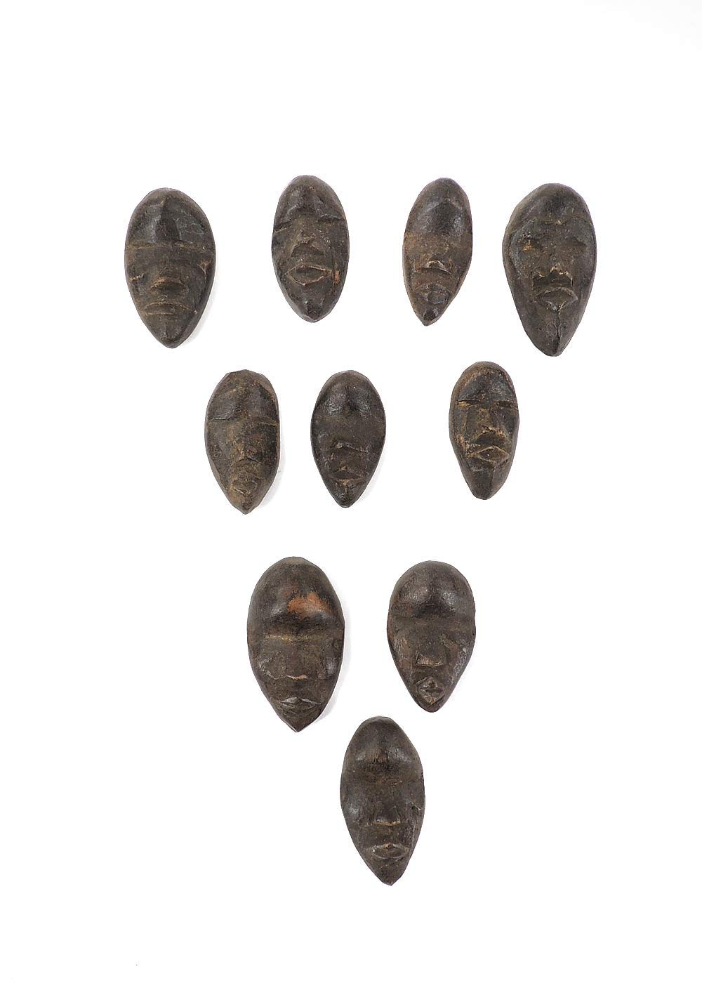 10 Dan Passport Mask Cote DIvoire African Art