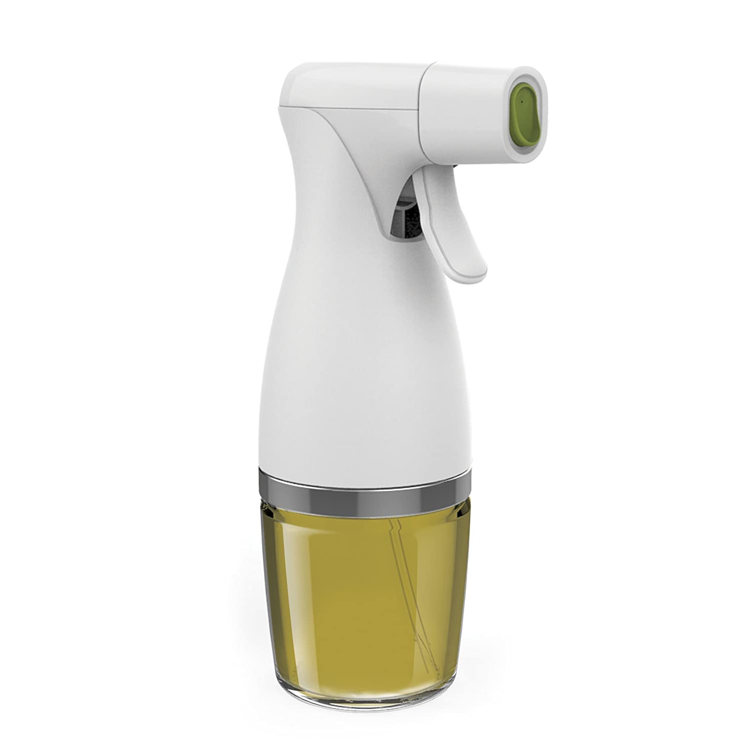 Prepara 2016 for for Kitchen and Grill, Simply Mist, Glass Healthy Eating Trigger Oil Sprayer, one size, White