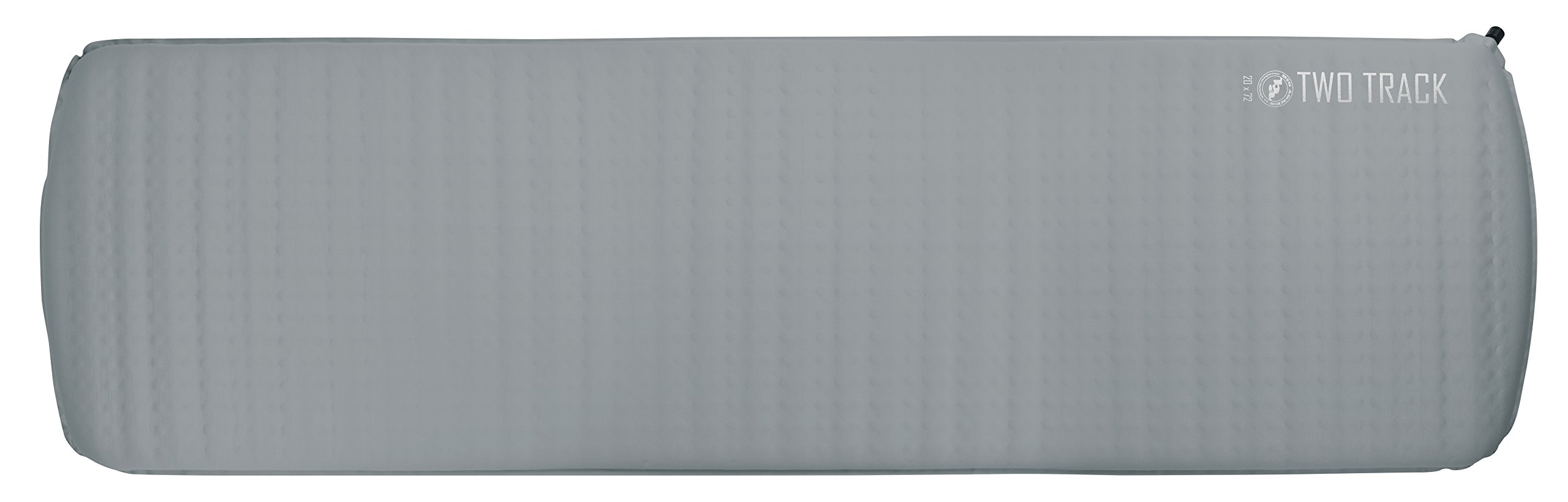 Big Agnes Two Track Sleeping Pad - Green Blue 25x78 Wide Long by Big Agnes