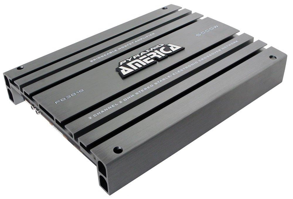 Pyramid PB3818 5000 Watt 2 Channel Bridgeable Mosfet Amplifier Sound Around