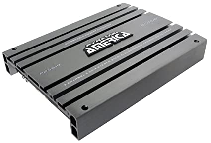 Pyramid PB3818 - Amplificador de doble canal superable MOSFET, 5000 W