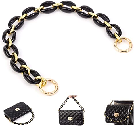SimpleLif Round Bag Handle Metal Top Handbags Handle Crossbody Bag Replacement Part Accessories