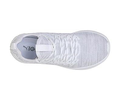 the latest dfdbe 69d53 Puma Women's Ignite Flash Evoknit Wn s Black-KNO Running Shoes