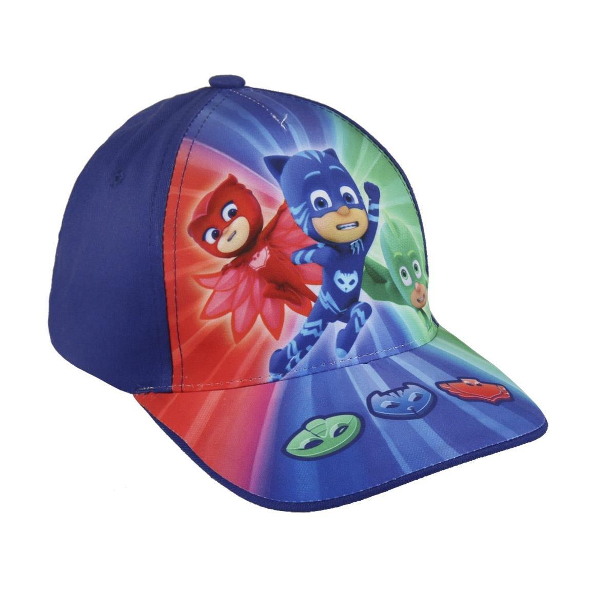 PJ Masks Héroes en Pijamas 2200002851 Gorra, Algodón, Gatuno, Buhíta, Gecko (Gris): Amazon.es: Juguetes y juegos
