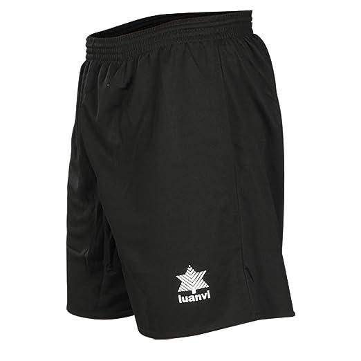 Luanvi Standard Pantalón Corto básico de Deporte, Hombre: Amazon.es: Deportes y aire libre