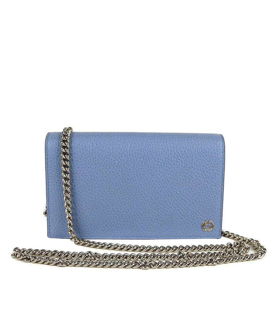 Gucci 466506 4503 - Cartera de piel para mujer, color azul ...