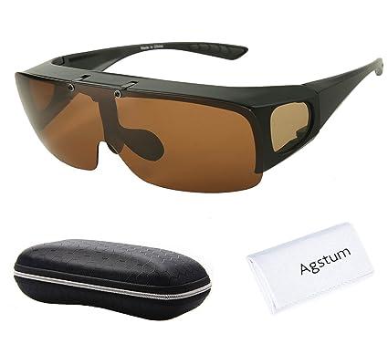 Agstum Herren Sonnenbrille Schwarz matte black, Schwarz, A-189