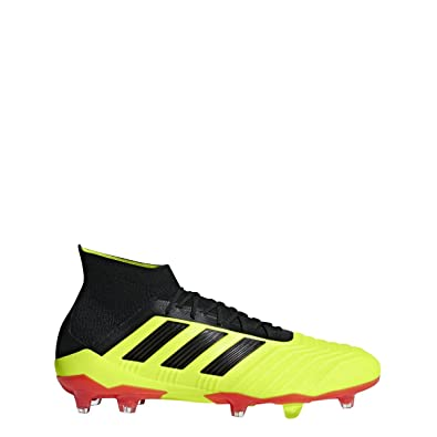 c418de742254 Image Unavailable. Image not available for. Color  adidas Predator 18.1  Firm Ground Cleat ...