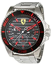 SCUDERIA FERRARI XKERS MULTIFUNCTION MEN'S WATCH