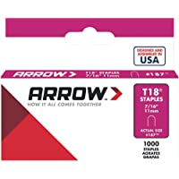 "Arrow - Grapa Para T18 7/16"" Con 1 000 P. Modelo: 187"