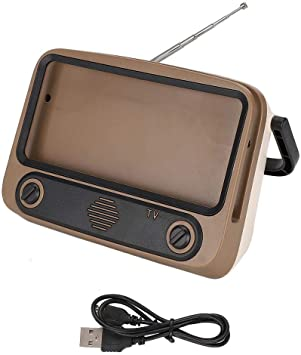 Wendry Mini Altavoz portátil, 1200mAH Estilo de TV Retro ...