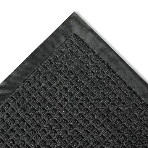 Crown Super-Soaker Wiper Mat w/Gripper Bottom, Polypropylene, 36 x 60, Charcoal - one floor mat. ()