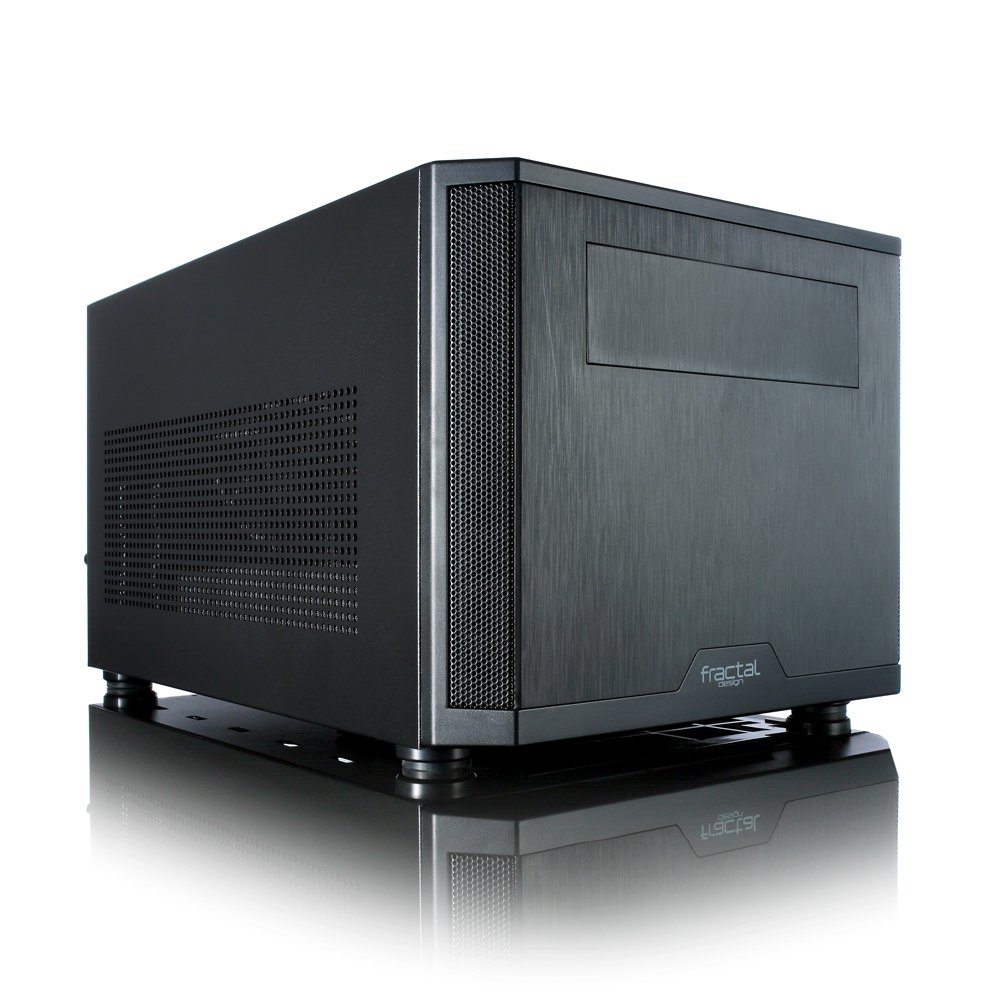 Fractal Design Core 500 No Power Supply Mini-ITX Case, Black FD-CA-CORE-500-BK
