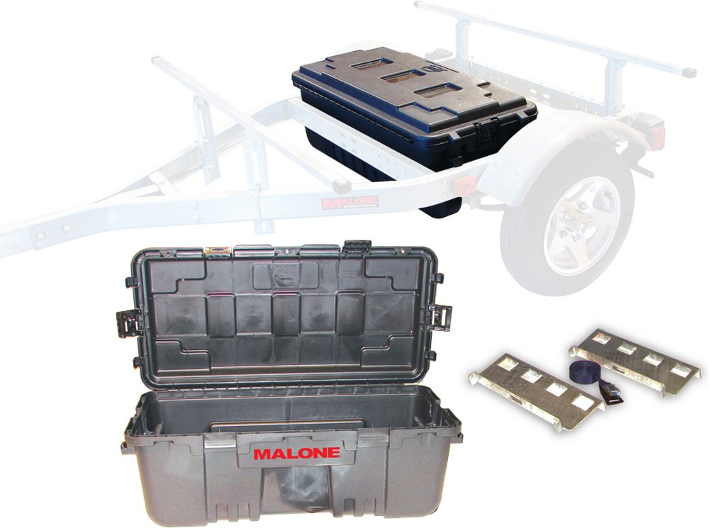 Malone Auto Racks MicroSport Trailer Storage Trunk by Malone