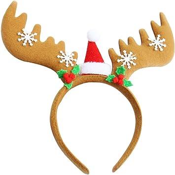 Immagini Di Renne Di Natale.She S Shining Fascia Per Cappello Di Renne Di Natale Amazon It Giochi E Giocattoli
