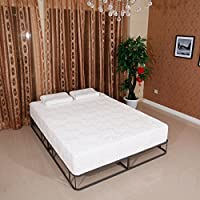 Naibang 8 inch Queen Traditional Firm GEL Memory Foam Mattress Bed with 2 Free Pillows