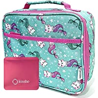 Lunch Box with Ice Pack for Girls Kids, Insulated Bag for Boy Daycare Pre-School Kindergarten, Container Boxes for Small…