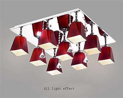 Plafoniere Rettangolari Soffitto : Creativi casa lampade a soffitto rettangolare creativa plafoniera