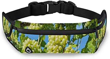 I Love Grapes Sport Waist Pack Fanny Pack Adjustable For Hike