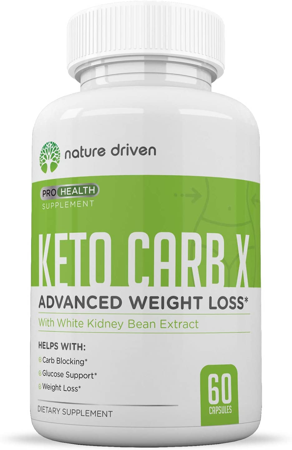 Keto Carb Blocker for Weight Loss – Keto Diet Pills – Appetite Suppressant for Men Women – Lose Belly Fat – Boost Metabolism – Starch Blocker – 60ct