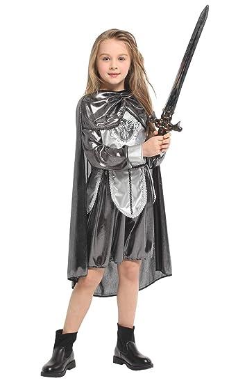 tpcqq Disfraz de Cosplay de Halloween Vestido de Princesa guerrera ...