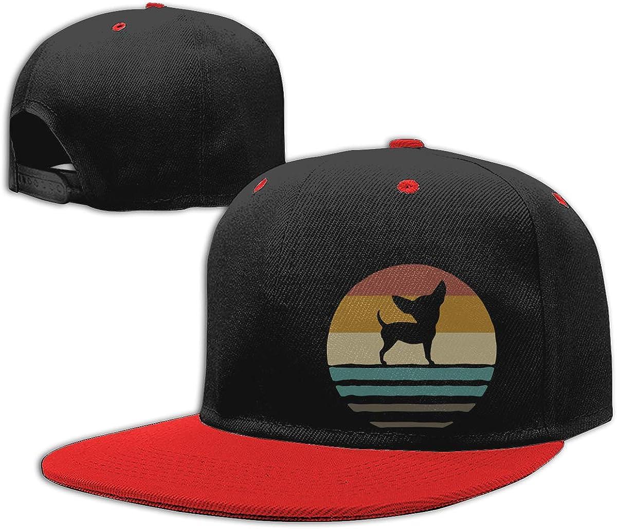 NMG-01 Men Womens Dad Hat Chihuahua Dog Fashion Hip-Hop Baseball Caps