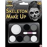 Halloween Squelette kit de maquillage Peinture de visage